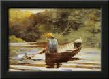 Boy Fishing, 1892 Art by Winslow Homer