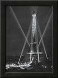 Tour Eiffel, Paris, 14 Juillet, 1947 Posters by Rene Jacques