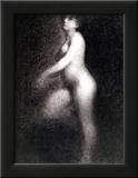 Nude, 1881-2 Posters by Georges Seurat