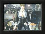 A Bar at the Folies-Bergere Prints by Édouard Manet