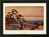 Kameya Tea House Prints by Ando Hiroshige