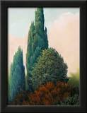 Tuscan Trees I Art by Alan Stephenson