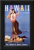 Hawaii by Clipper Print