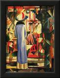 Large Bright Showcase Prints by Auguste Macke