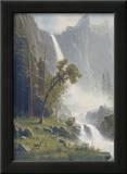 Bridal Veil Falls, Yosemite, c.1871-73 Print by Albert Bierstadt