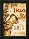 New Orleans Jazz II Print by Pela Design