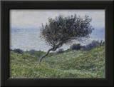 Sea Coast at Trouville Prints by Claude Monet