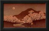 Cherry Blossoms Prints by Ando Hiroshige