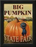 Big Pumpkin Posters by Catherine Jones