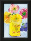 Flowers in a Yellow Can Art by Robbin Gourley