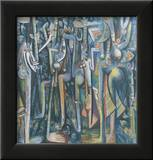 The Jungle, 1943 Print by Wilfredo Lam