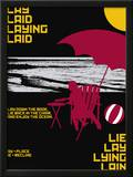 Grasping Grammar: Lay Lie Prints by Christopher Rice