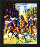 Victory on the Champs-Elysees Posters by Malcolm Farley