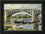 Bridge at Argenteuil Art by Claude Monet