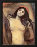 Madonna, c.1895 Prints by Edvard Munch