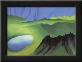 Mountains and Lake Prints by Georgia O'Keeffe