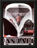 Líneas Panhard Póster por Alexis Kow
