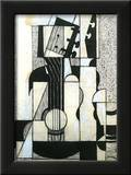 Still Life with Guitar Posters by Juan Gris
