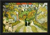 Stairway at Auvers Prints by Vincent van Gogh
