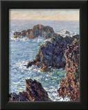 Rock Points at Belle-Ile, c.1886 Poster by Claude Monet