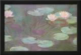 Nenúfares Poster por Claude Monet