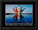 Working Together Prints