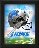 2009 Detroit Lions Team Logo Poster