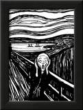 Scream Prints by Edvard Munch