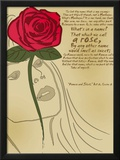 Romeo and Juliet: A Rose Print by Christopher Rice