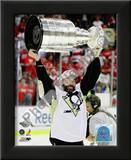 Bill Guerin Game 7 - 2008-09 NHL Stanley Cup Finals With Trophy Prints
