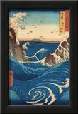 Rough Sea at Naruto in Awa Province Art by Ando Hiroshige