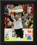 Jordan Staal Game 7 - 2008-09 NHL Stanley Cup Finals With Trophy Poster