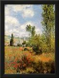 Ile Saint Martin, Vetheuil Posters by Claude Monet