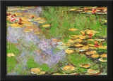 Water Lily Pond at Giverny Arte por Claude Monet