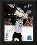 Marc-Andre Fleury Game 7 - 2008-09 NHL Stanley Cup Finals With Trophy Prints