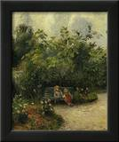 Corner of a Garden at the Hermitage, c.1877 Posters by Camille Pissarro