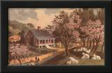 American Homestead Spring Posters by  Currier & Ives