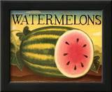 Watermelons Print by Diane Pedersen