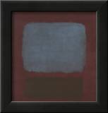 No. 37 / No. 19 (Slate Blue and Brown on Plum), 1958 Prints by Mark Rothko