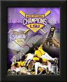 Louisiana State University Tigers 2009 NCAA Baseball Champions Prints