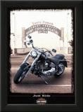Just Ride Posters by Helen Flint
