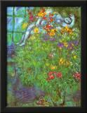 Ramo Ardiente Lámina por Marc Chagall