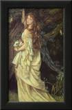 Ophelia and He Will Not Come Again, 1863-64 Posters by Arthur Hughes