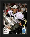 Sidney Crosby Game 7 - 2008-09 NHL Stanley Cup Finals With Trophy Prints