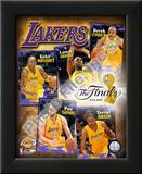 "2009 Finals - Lakers ""Big 5"" Prints"