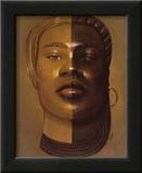 African Mask, no. 29 Poster by Laurie Cooper