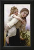 Not Too Much to Carry Art by William Adolphe Bouguereau
