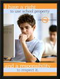 School Property Posters