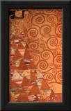 Expectation, Stoclet Frieze, c.1909 Prints by Gustav Klimt