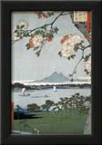 Suigin Grove and Masaki Prints by Ando Hiroshige